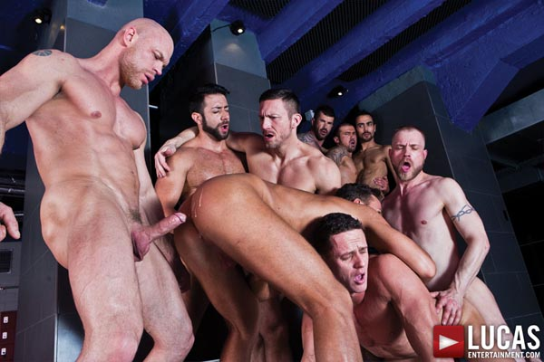 Adam Killian's Gay Bareback Orgy