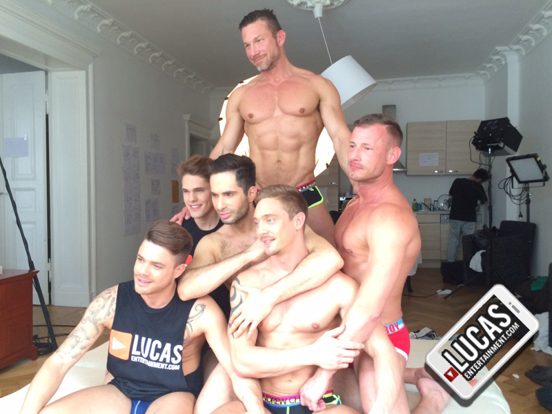 Behind The Scenes From June 2015′s Berlin Gay Porn Shoot