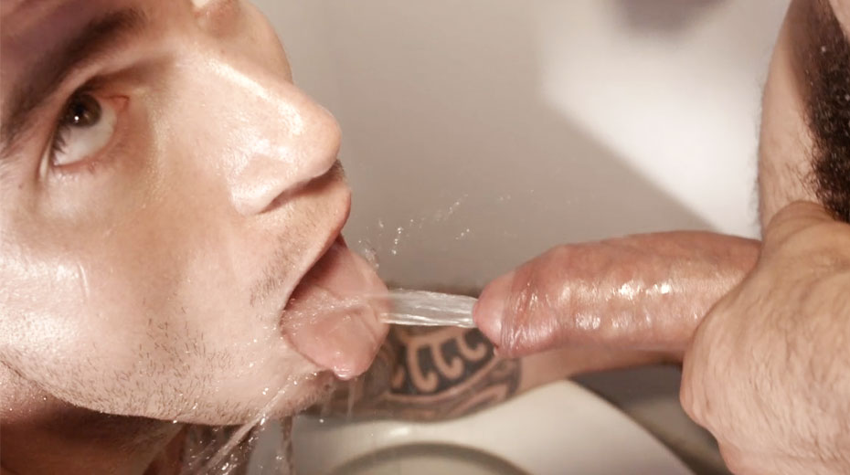 Cam Christou and Mikoah Kan | Gay Piss and Water Sports on Lucas Raunch