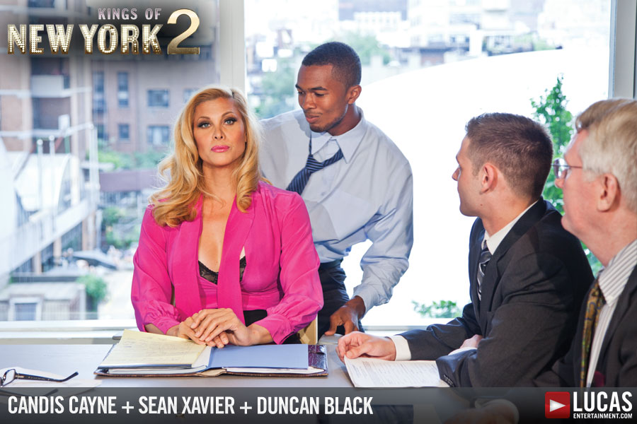 Candis Cayne | Caitlyn Jenner | Sean Xavier | Duncan Black | Gay Porn Picture 08