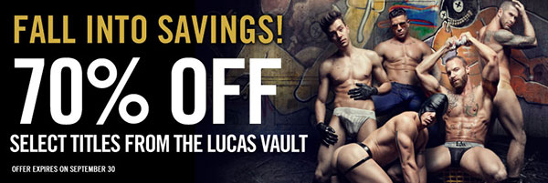 Fall Into Savings: Save 70 Percent In The Lucas Store On Select Titles