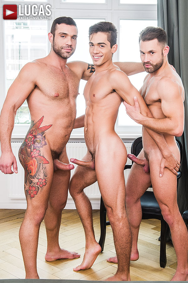 MONDAY: The Handsome Ashton Summers And James Castle Take Turns With Letterio Amadeo