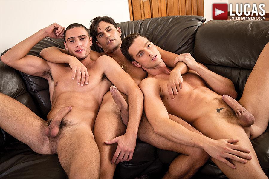 Damon, Rafael And Javi   Three Is Never A Crowd