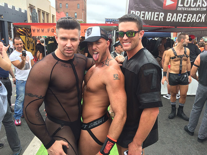 The Lucas Entertainment Redux Of Folsom Street Fair 2014