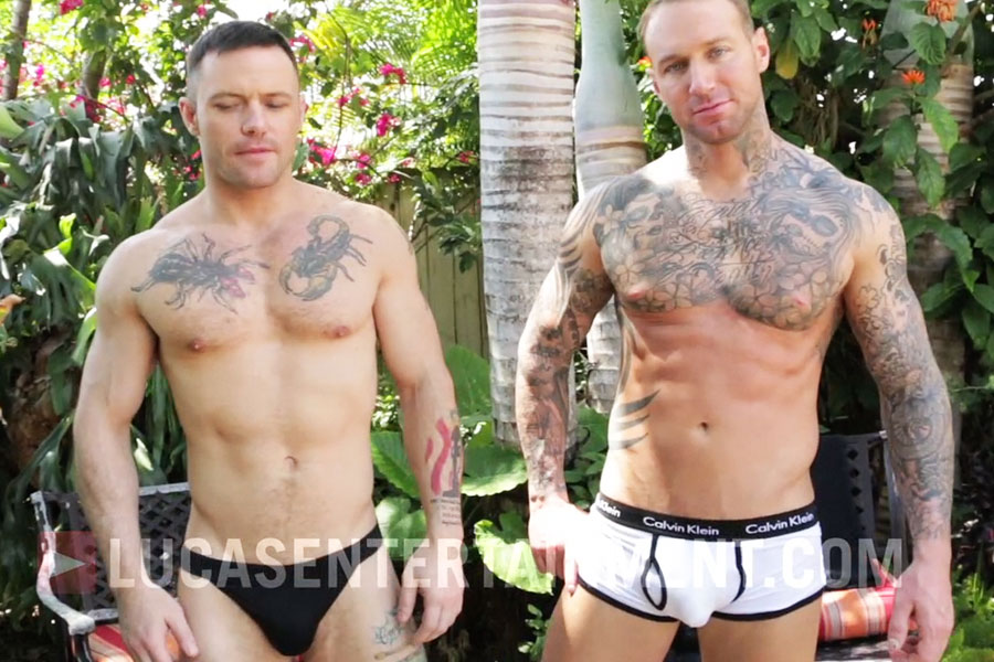 Rafael Lords Gives Douching Tips And Sergeant Miles Shows Off With Dylan James