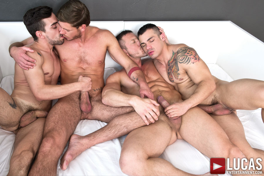 Tomas Brand Takes the Lead in Today's Bareback Sex Orgy