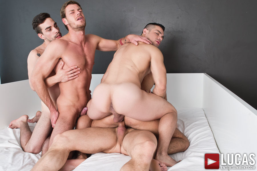Tomas Brand Stars in a Gay Bareback Sex Orgy with Fernando Torres, Toby Dutch, Josh Milk, and Alejandro Alvarez - Photo 04