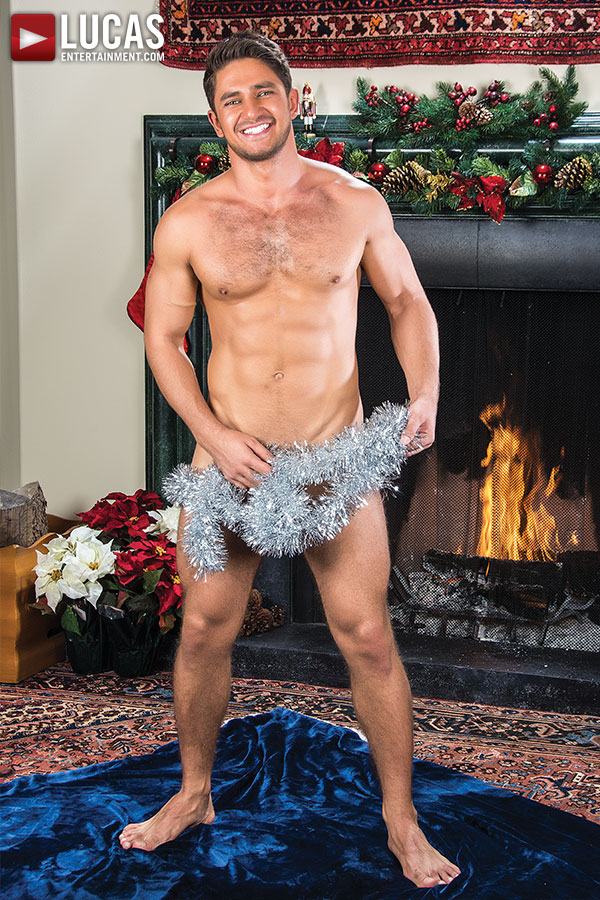 A Very Merry Bareback Christmas By Lucas Entertainment, Behind The Scenes Content
