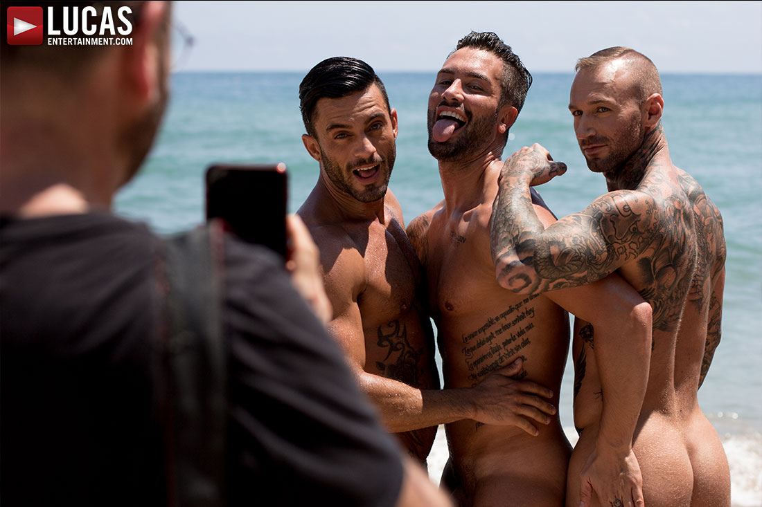 Dylan James, Andy Star, Andrea Suarez 01 | Gay Porn Model | Lucas Entertainment
