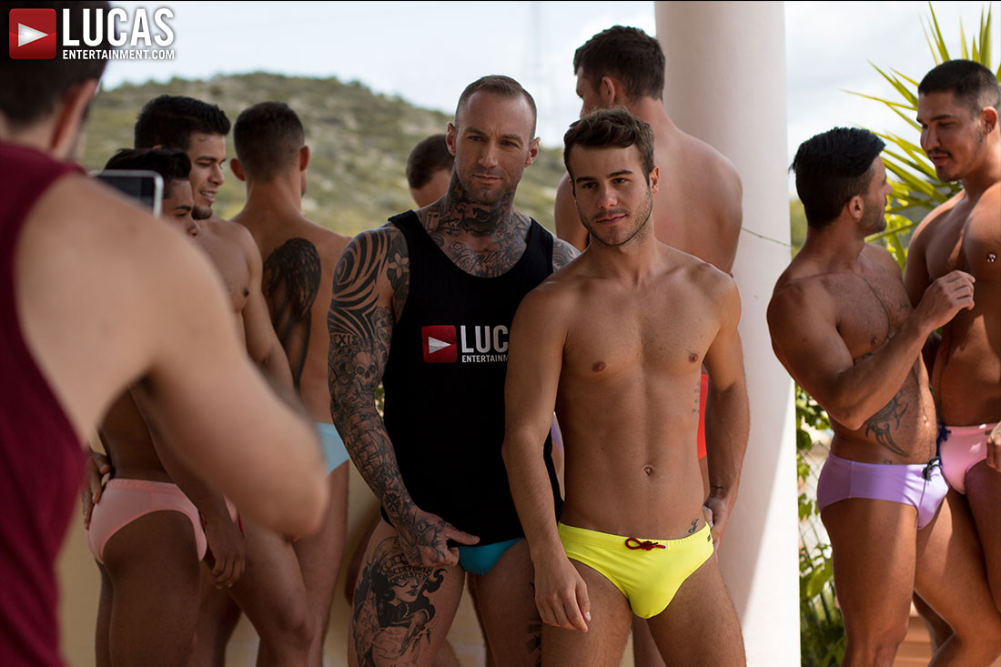 Gay Porn Pool Party In Spain 04 | Lucas Entertainment