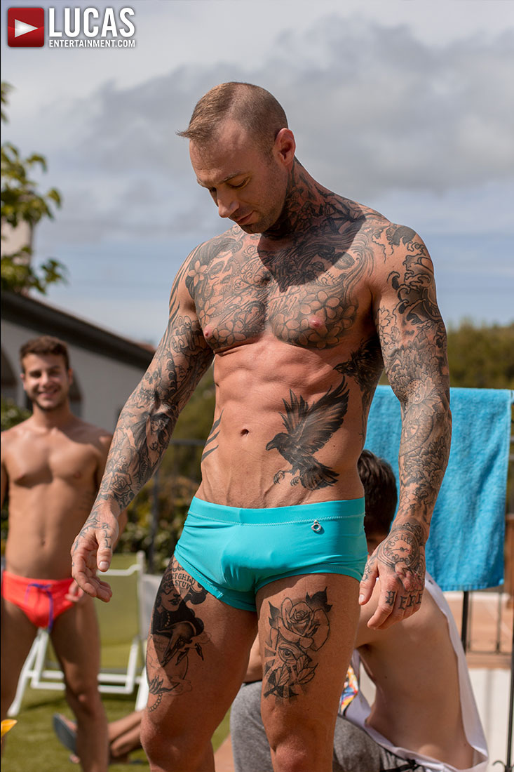 Gay Porn Pool Party In Spain 06 | Lucas Entertainment