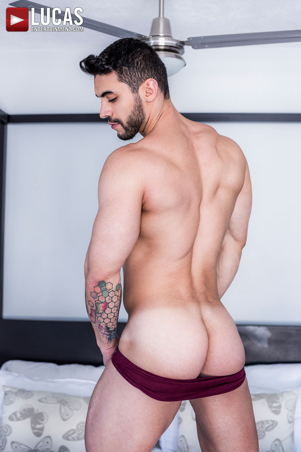 Arad Winwin 02 | Arab Gay Bareback Porn Star | Lucas Entertainment